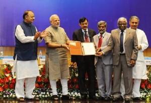 Narendra Modi At the DRDO awards ceremony